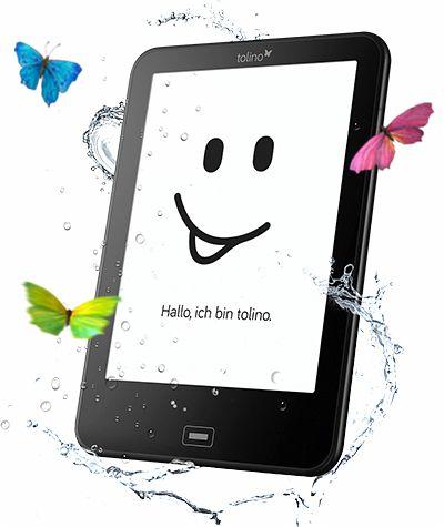 """Tolino Vision 3 HD - 6"""" E-Book-Reader mit Licht - Wasserfest und Formatoffen - 6,5% Cashback evtl. möglich"""