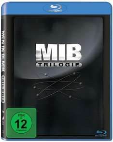 Men in Black Trilogie  [Blu-ray] für 10 € >[amazon.de (Prime) & saturn.de (Vsk frei)]