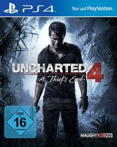 Uncharted 4: A Thiefs End (PS4) für 30€ [Amazon]