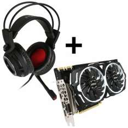 [Caseking] MSI GeForce GTX 1080 Armor 8G OC + MSI DS502 Gaming Headset