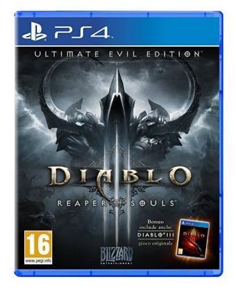 (Amazon.it) Diablo 3: Reaper of Souls - Ultimate Evil Edition (PS4) für 18,48€