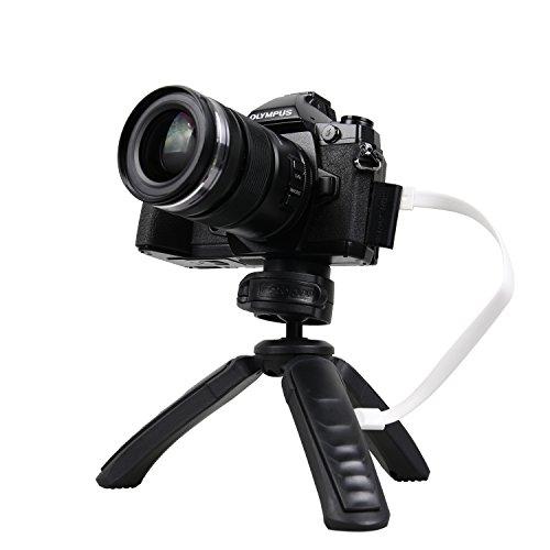 Stativ für Kameras, GoPros und Handy mit eingebauter Powerbank oder Handystativ mit Bluetooth Steuerung für 4,99€ bei Amazon