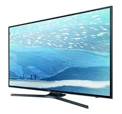 AMAZON TAGESDEAL Samsung UE55KU6079UXZG 55 Zoll Fernseher Ultra HD, Triple Tuner, Smart TV [Energieklasse A]