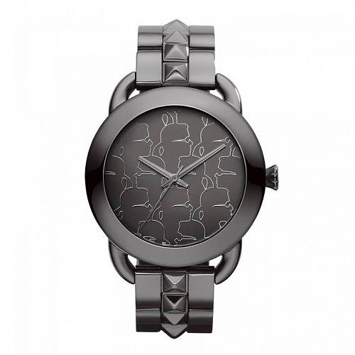 (OneDealOneDay) Karl Lagerfeld Unisex Armbanduhr KARL POP Edelstahl grau KL2202