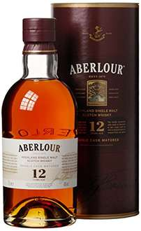 [Amazon Tagesangebot] Aberlour 12 Jahre Highland Single Malt Scotch Whisky (1 x 0.7 l)