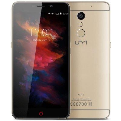 Umi Max – 5,5 Zoll Smarthone (4G, 3GB RAM, 16GB) für 127,39€ @GearBest