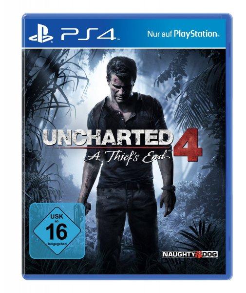 (Alternate) Uncharted 4: A Thief's End (PS4) + Skylanders Trap Team Spielfigur für 29,99€