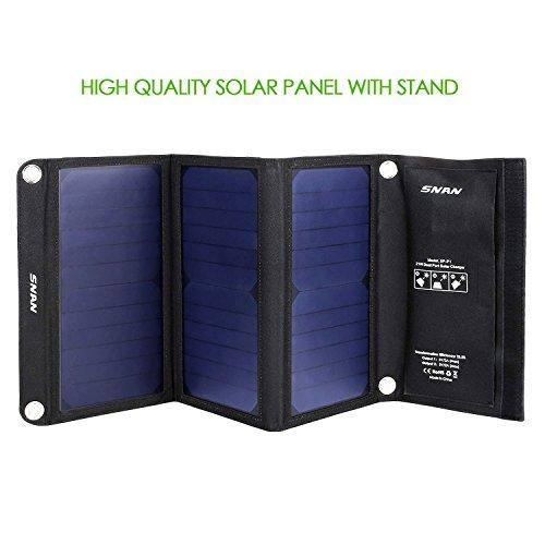 [AMAZON]SNAN 21W Solar Ladegerät Dual USB Ladeport 5V/2A  29,99€ anstatt 45,99€