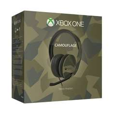 (Redcoon) Xbox One Stereo Headset (Armed Forces Camouflage) für 38,38€