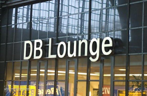 Kostenlose Snacks in der DB-Lounge Frankfurt Hbf