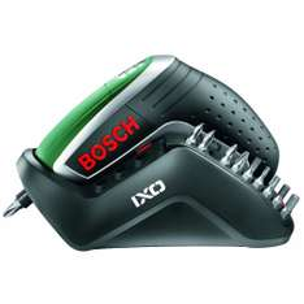 Bosch IXO IV Upgrade Akkuschrauber inkl. Ladestation und 10 Bits