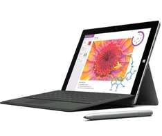 Microsoft Surface 3 inkl. Type Cover, Stift und 4GB RAM + Ricoh Drucker