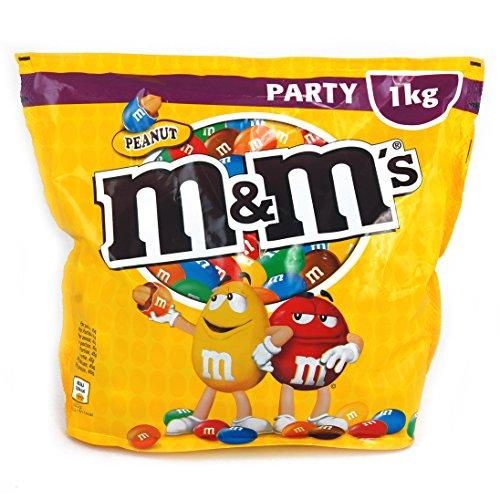 M&Ms Peanut, 1 Beutel (1 x 1 kg)