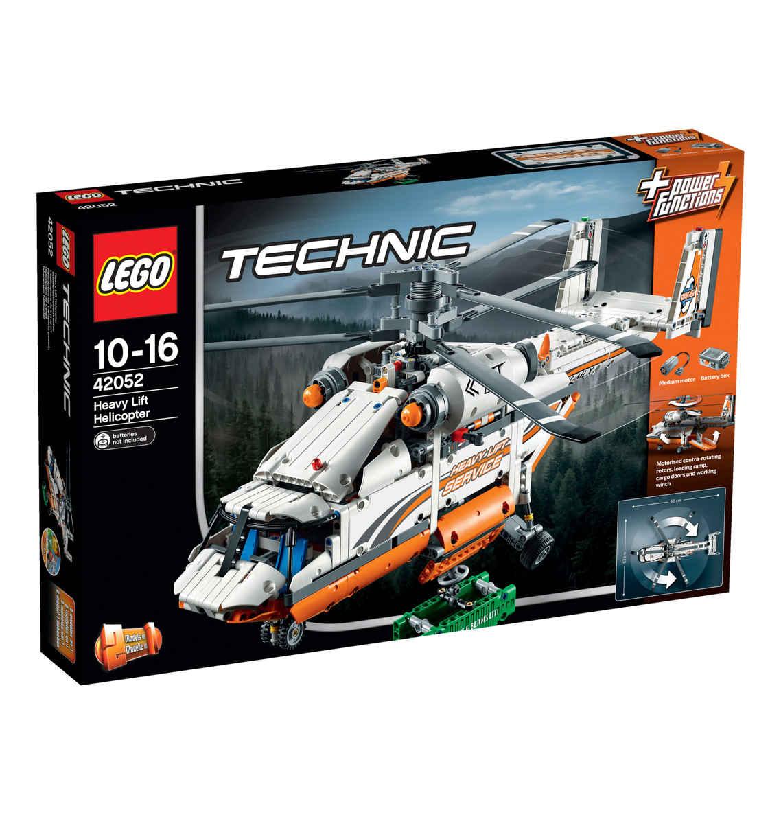 LEGO Technic Schwerlasthubschrauber 42052 und LEGO Star Wars Clone Turbo Tank 75151 [Kaufhof]