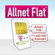 Telekom-Netz mit Allnet-Flat + 1500 MB für 7,99 € / Monat