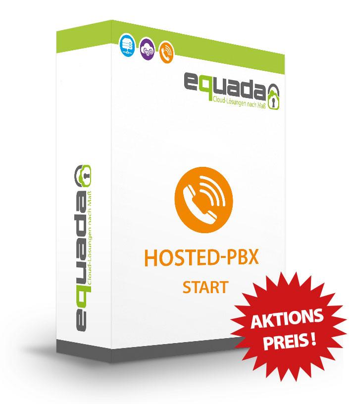 equada.de Cloud-Telefonanlage Hosted-PBX Start + Telefone