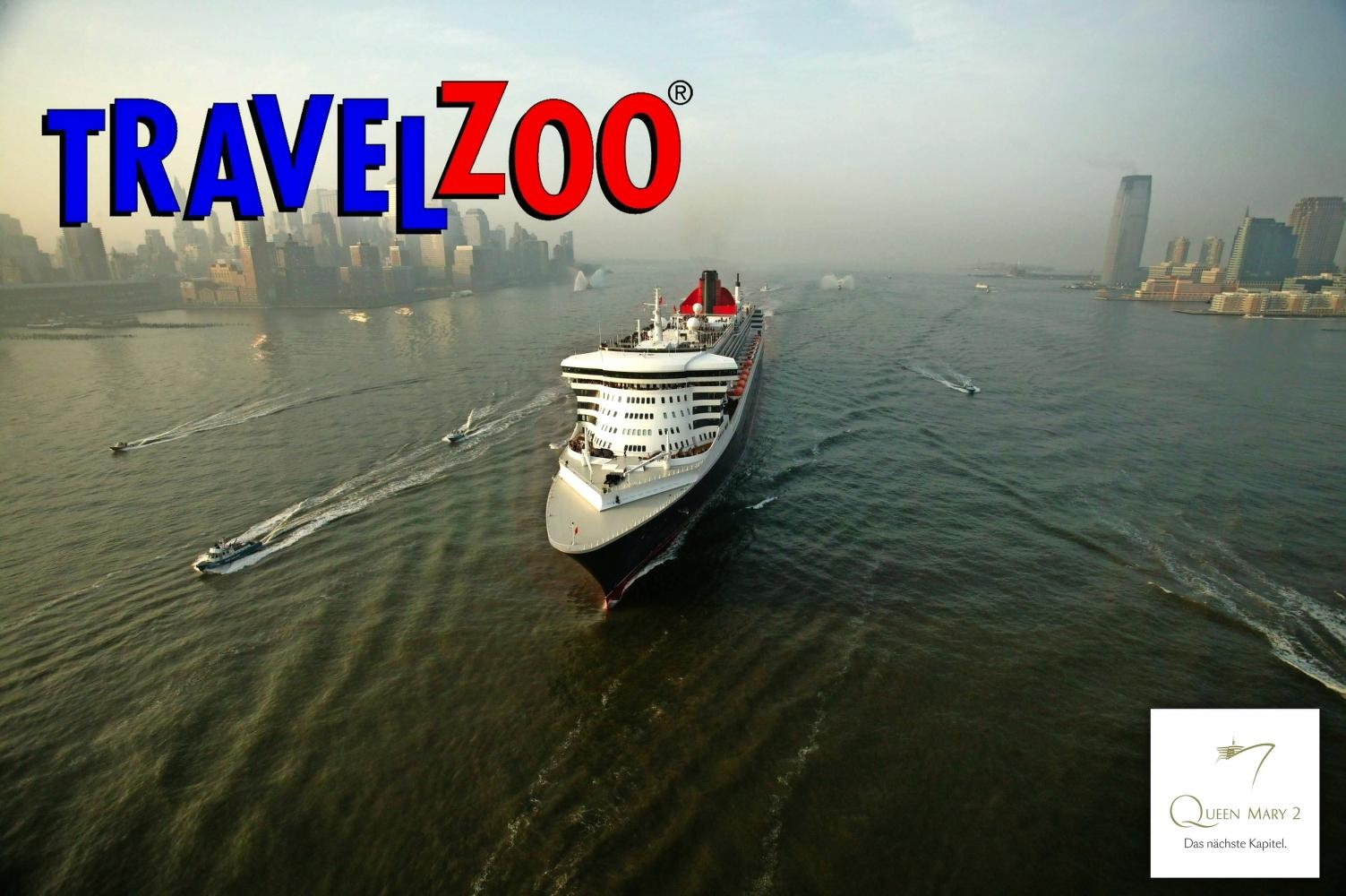 (Flughansa.de) 2 Personen New York und Transatlantikpassage an Bord der Queen Mary 2 10 Nächte ab New York / bis Southampton(inkl. Flüge, Transfers und 3 Vorübernachtungen in NYC) (1390€/Person)