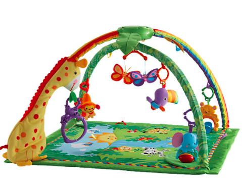 20% Rabatt auf Spielwaren von Mattel ab 29€ MBW bei [MyToys] z.B. Rainforest Deluxe Krabbeldecke für 37,14€ inkl. VSK