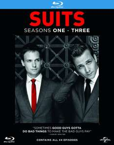 Suits Staffel 1 bis 3 (Blu-ray Box - 11 Discs) ab €15,93 [@Zavvi.de]