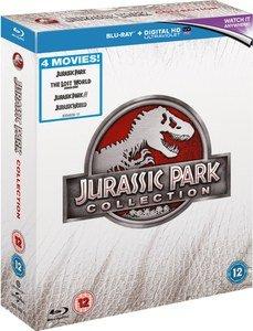 (Zavvi) Jurassic Park Collection 1-4 (Blu-ray + UV Copy) für 12,85 €