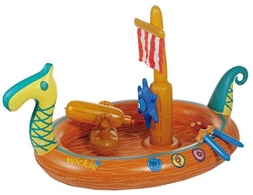Planschbecken Wickie [Amazon prime] für 12,73€, PVG 44,9€ - Ahoi, für kleine Piraten auf Kaperfahrt