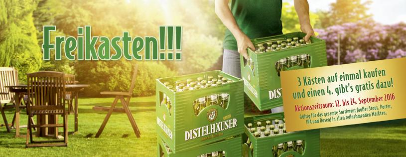 Regional/ Nord-BaWü/ U.-Frank./ 3 Kästen Distelhäuser auf einmal kaufen, den 4ten gratis erhalten.