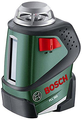Bosch Linienlaser PLL 360 + Stativ + Halterung + Schutztasche für 109,99€ statt 139€ [amazon prime]
