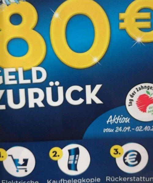 Oral-B bis zu 80€ Geld zurück
