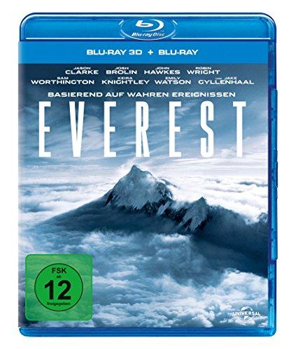 [Amazon Prime] Everest 3D Blu-Ray - 12,99€