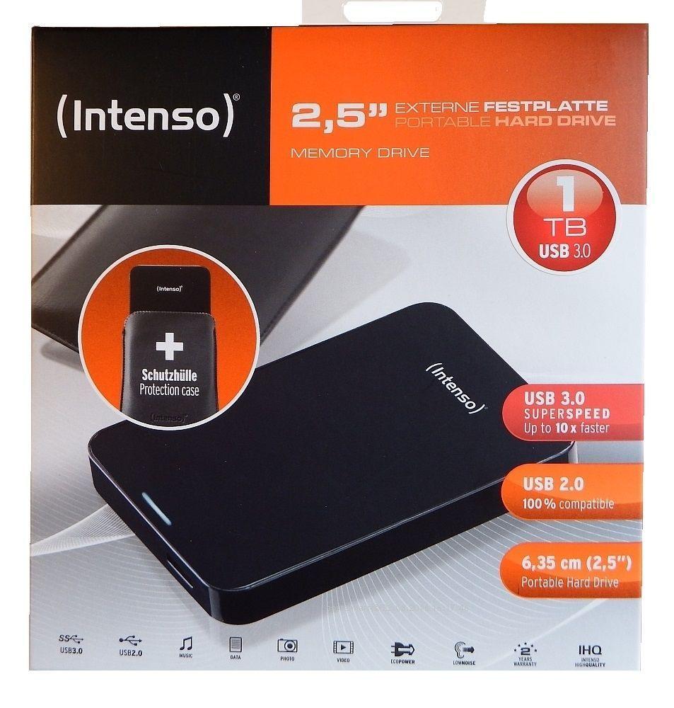 "Ebay Abverkauf!! Intenso 1TB 2,5"" Memory Drive USB 3.0, 30€"