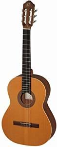 Ortega R180L Konzertgitarre Custom Made in 4/4 Größe Linkshänder handgefertig in Spanien massive Decke natur im seidenmatten Finish mit hochwertigem Gigbag amazon WHD