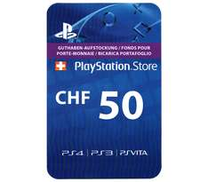 Playstation Network Card 50 CHF (SCHWEIZ)