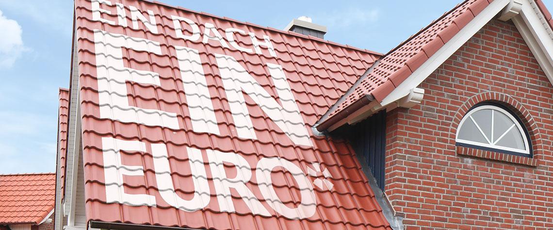 Dachziegel  200 Quadratmeter für 1€ [nur gewerbliche Dachdecker]