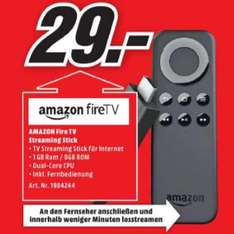 [Lokal Mediamarkt Rheine] Amazon Fire TV Stick für 29,-€