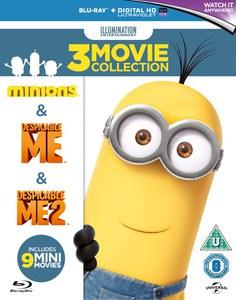 """[Zavvi]Ich einfach unverbesserlich 1&2 und Minions + 9 """"Mini-Movies"""" für 14,65 EURO!"""