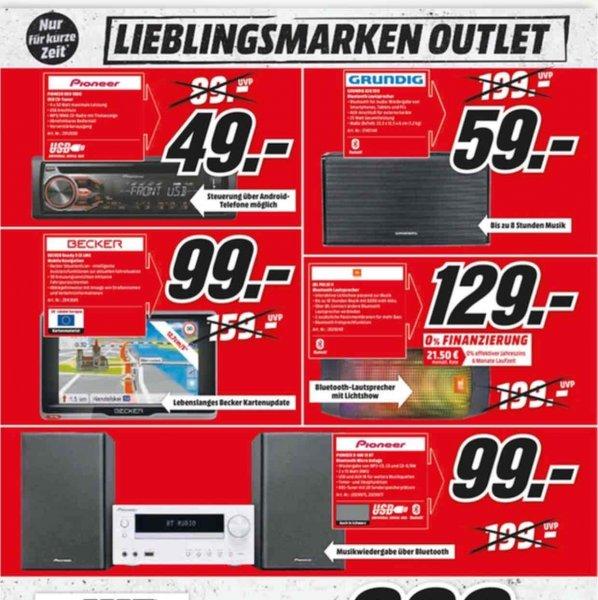 Lokal Hamburg , Media Markt Outlet Verkauf , Grundig Lautsprecher GSB 550 Lautsprecher für nur 59,- und vieles mehr !