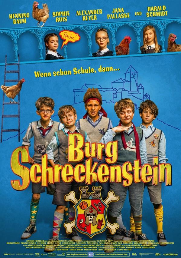 """[ KIDS KINO PREVIEW ] Für 0,69€ zu zweit zu """"Burg Schreckenstein"""" - Sonntag, 16.10.2016 - 15 Uhr - (10 Städte)"""