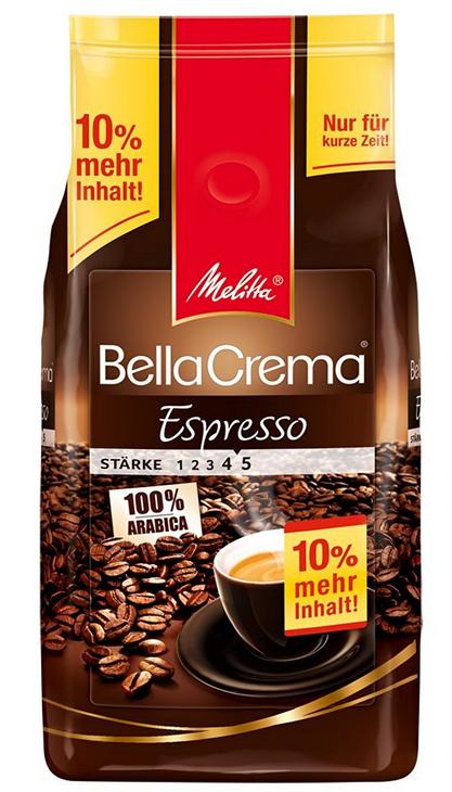 Melitta Kaffee / Espresso: Kilopreis 7,72€