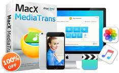 Gratis: MacX MediaTrans - Datentransfer für iPhone/iPad/iPod