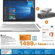 [Saturn Hamburg Lokal] Microsoft Surface Book i5 256gb inkl.  Dock penkit und Office 365