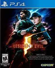 Resident Evil 5 HD (PS4) Disk Version für 24,50 € inkl. VK [Gameware]