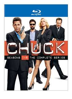 [Amazon.com] Chuck Complete Box - Staffel 1 bis 5 - region free Bluray