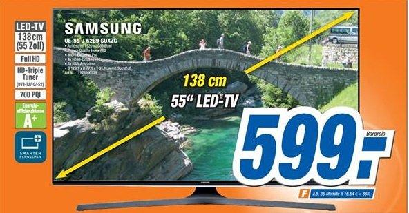 Samsung UE55J6289SUXZG lokal bei expert Bielinsky