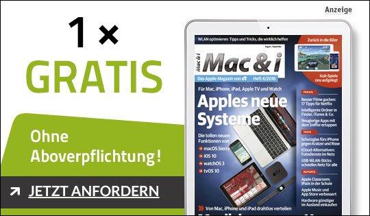 Gratis Digitale Mac & i Ausgabe