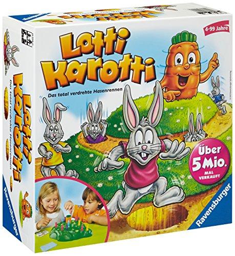 Kinderspiel: Ravensburger Lotti Karotti für 12,99 statt 16,15€ [amazon Blitzangebot]