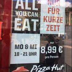 [Lokal Berlin] Pizza Hut All You Can Eat