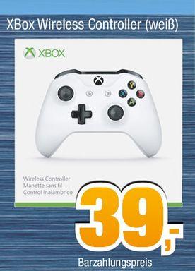 [Offline Expert-Bening Alle 19Filialen] Microsoft Xbox Wireless Controller (weiß + Bluetooth)**Neuste Generation*** für 39,-€