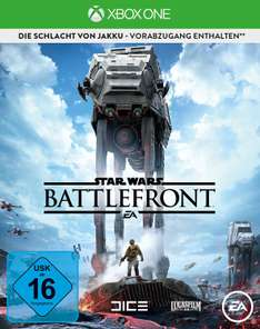 Star Wars: Battlefront - Day One Edition (Xbox One) für 10€ [Amazon Prime]