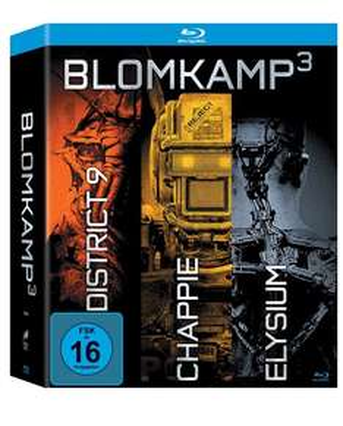 (Amazon Prime) Chappie / District 9 / Elysium (Blu-ray) für 12,95€