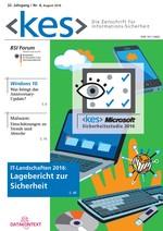 Gratis Ausgabe der  Kes - Die Zeitschrift für Informations-Sicherheit